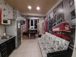 Гостиная зона в Apartment Armyanskaya 49