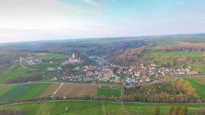 A bird's-eye view of Landgasthof Falken