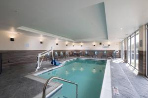The swimming pool at or near Fairfield Inn & Suites by Marriott Oklahoma City El Reno