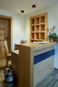 Küche/Küchenzeile in der Unterkunft Alpenjuwel Rohnenspitze