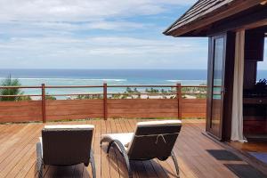 Uma varanda ou terraço em Villa Tea Tea