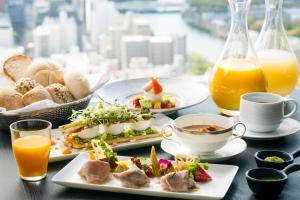 Breakfast options available to guests at Rihga Royal Hotel Hiroshima