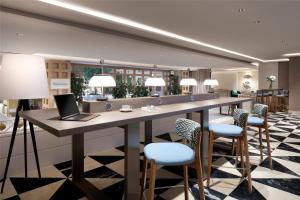 مطعم أو مكان آخر لتناول الطعام في Hyatt Regency Hesperia Madrid