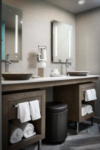 A bathroom at Lodge Kohler