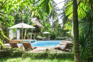 The swimming pool at or near Long Beach Chalet - SHA Plus