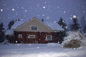 Guest House Puukarin Pysäkki зимой