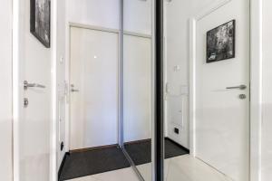 Ванная комната в Rental SPb Studios Varshavskaya