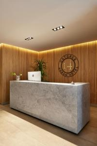 The lobby or reception area at 14 Urban Hotel