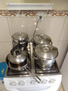 A kitchen or kitchenette at Casa 25 (Dois Pinheiros)
