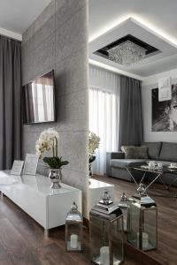 Posezení v ubytování Crystal Luxury Apartments Rakowicka 20H