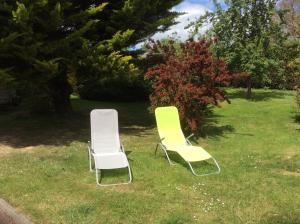 Jardin de l'établissement Maison entre Caen et Bayeux, proche plages du débarquement