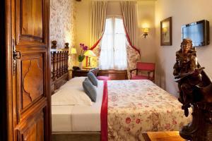 Cama o camas de una habitación en Hotel Left Bank Saint Germain