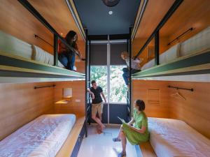 A bunk bed or bunk beds in a room at The Bed KLCC