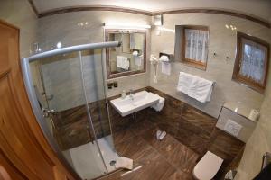 Ein Badezimmer in der Unterkunft Gafluna