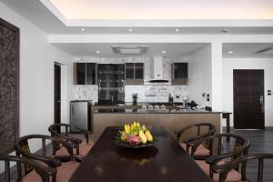 A kitchen or kitchenette at Samui Palm Beach Resort - SHA Plus
