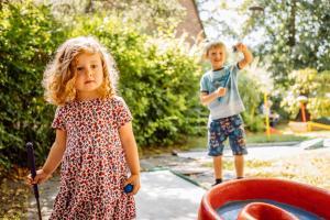 Children staying at Hotel Buschhausen