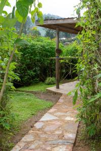 A garden outside Karungi Camp