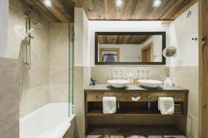 A bathroom at Himmlhof
