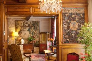Zona de estar de Hotel Left Bank Saint Germain