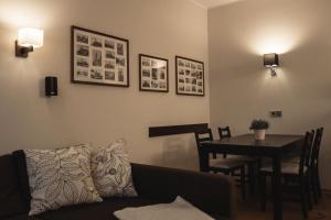 Ein Sitzbereich in der Unterkunft athome IHR Apartment