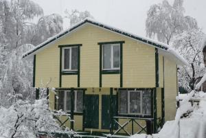 Гостевой Дом У Пруда зимой