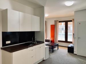 Kuchyňa alebo kuchynka v ubytovaní Apartmany Jasna Chopok
