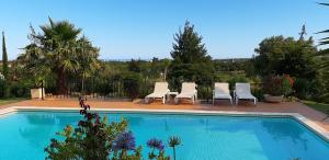 The swimming pool at or near Villas Crisaflor