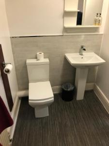 A bathroom at Don Valley hotel