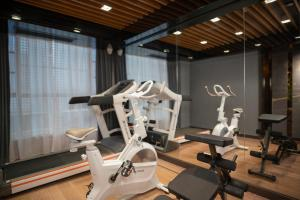 The fitness center and/or fitness facilities at CityNote Hotel Beijing Road Pedestrian Guangzhou