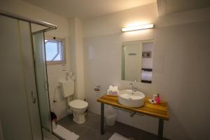 A bathroom at G38 Rental Apartment Building