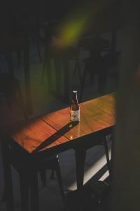 Drinks at Wanderlust Hostel