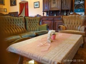 Część wypoczynkowa w obiekcie Pałac Książęcy we Wleniu