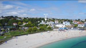 A bird's-eye view of No.10 Falmouth - 2 minutes walk to the beach