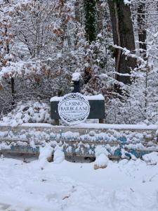 Dimora Barbolani durante l'inverno