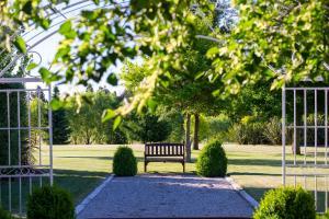 A garden outside Lime Tree Lodge