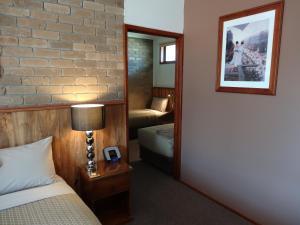 A bathroom at Peppinella Motel