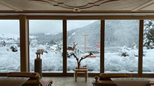 Dolasilla Mountain Panoramic Wellness Hotel during the winter