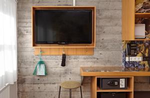TV/Unterhaltungsangebot in der Unterkunft Icelandair Hotel Reykjavik Marina