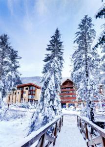 Wellness Hotel Chopok v zime