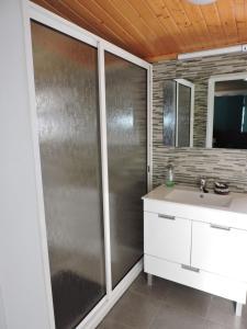 A bathroom at Casa do Bica