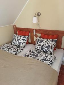 A bed or beds in a room at Villa Vita