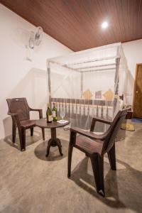 Zona de estar de Luaya Beach