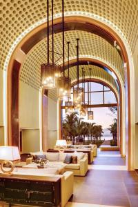 A restaurant or other place to eat at Outrigger Mauritius Beach Resort
