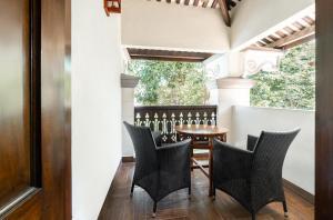 A balcony or terrace at Hotel Penaga