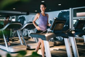 Centrum fitness w obiekcie Golden Prague Residence