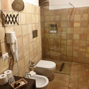 A bathroom at Alla Giudecca