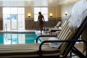 The swimming pool at or near Hotel Julien Dubuque