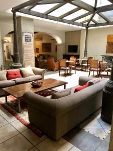 El lobby o recepción de Hotel Almería