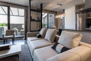 Zona de estar de BCN Luxury Apartments
