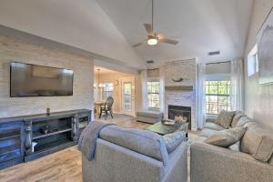 A seating area at Modern Flagstaff Home with BBQ, Walk Downtown!